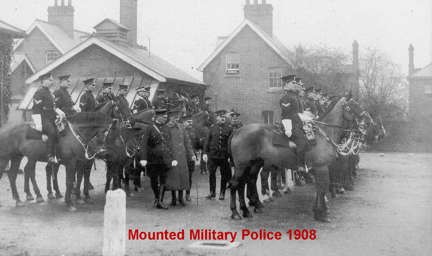 Royal Military Police Mounted Troop – EXEMPLO DUCEMUS